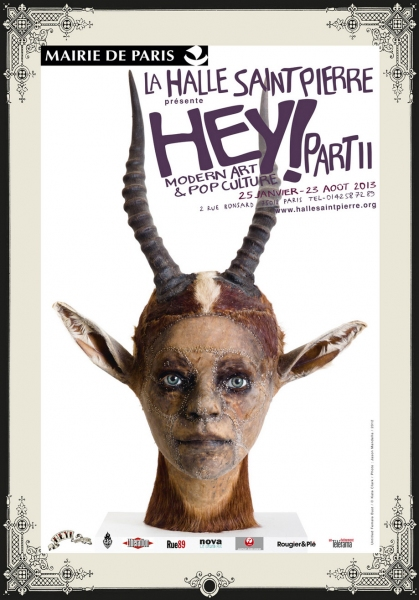 """HEY! MODERN ART & POP CULTURE (PART II)"" exhibition"